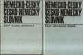 Německo-český a česko-německý slovník 1.a 2.díl