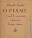 O písmu - Úvod k poznání výtvarné krásy písma