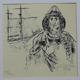 Námořník - litografie