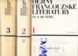 Dějiny francouzské literatury 19. a 20. století (3 díly)