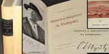 DĚTSVÍ A CHLAPECTVÍ NA PODŘIPSKU. 1940. Umělci o sobě a o všem. Podpis autora.