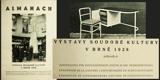 ALMANACH VÝSTAVY SOUDOBÉ KULTURY V BRNĚ 1928. 1928. Výstava soudobé kultury v Brně. /architektura, užité umění/