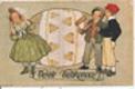 Veselé velikonoce - chlapci s řehtačkou