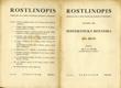 Rostlinopis - Systematická botanika I. díl
