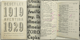 DESET LET AVENTINA. 1919 - 1929. 1929. Seznam knih vydaný k 15. září roku 1929. Bibliografie.