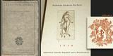 Brunner - Z GOETHOVA ODKAZU.  1916. Bradáč, Vybrané knihy sv. 2.  Lept na titulním listě V. H. BRUNNER.
