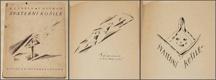 SVATEBNÍ KOŠILE.  1920. VLASTISLAV HOFMAN. Klika, edice Vatra. /kubismus/expresionismus/