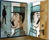 CRAINQUEBILLE. 1983. Lyra Pragensis  sv. 59. Ilustrace KAMIL LHOTÁK, celokožená v. /Miniature edition/