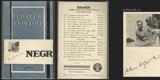 NEGR. 1928. Obálka ADOLF HOFFMEISTER.