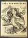 ZPĚV NAD KOLEJEMI. 1941. Obálka a kresba s titulu ALOIS MORAVEC.