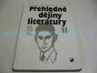 Přehledné dějiny literatury II. díl,Dějiny české literatury od k
