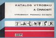 Katalog výrobků a činností ČSTV