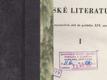 Dějiny ruské literatury I. - Od nejstarších dob do počátku XIX.století