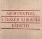 Architektura v českém národním dědictví
