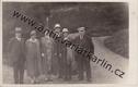 Lázně Luhačovice - skupinové foto v parku, 1930 (č. 16913)