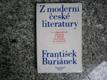 Z moderní české literatury - o bybraných dílech z první poloviny 20. století
