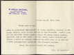 Dopis, podpis Dr. Ladislav Kratochvíl