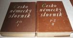 Česko-německý slovník I-II.