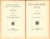 Psychologie vůle
