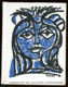 Milenka modř