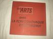 Les Arts - Dans la tchecoslovaque d´aujourd´hui