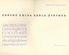 Krásná kniha Karla Dyrynka