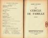 Le cercle de famile
