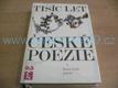 Tisíc let české poezie I. díl, Stará česká poezie
