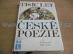 Tisíc let české poezie II. díl, Česká poezie XI