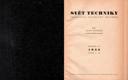 Svět techniky r.III - 1952