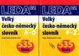 Velký česko-německý slovník - 2 svazky
