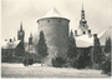 Klatovy - historické opevnění města s Černou a Bílou věží v pozadí