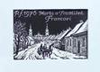 PF 1976 - Sáně s dvojspřežím
