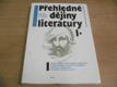 Přehledné dějiny literatury I. díl,Dějiny české