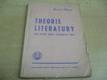 Theorie literatury pro vyšší třídy středních škol