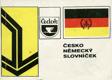 Česko-německý slovníček