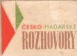 Česko-maďarské rozhovory