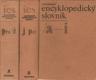 Ilustrovaný encyklopedický slovník I. - II. - III.