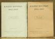 Knižní novinky 1935-1947, díl I. a II.