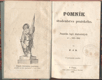 POMNÍK ŠTUDENSTVA PRAŽSKÉHO. 1864. Památka legií študentských od r. 1648 - 1848. /pragensie/