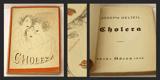 CHOLERA. 1926. Obálka JOSEF ŠÍMA, titulní list KAREL TEIGE.