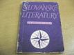Slovanské literatury ve světové četbě. Propagační almanach (1959