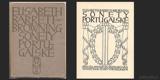 SONETY PORTUGALSKÉ. 1908. Typografická úprava JAROSLAV BENDA (Artěl - Praha)