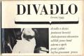 DIVADLO. Červen. 1966. (17. ročník). 1966. Obálka LIBOR FÁRA. Foto ŠTÍBR, JANOUŠEK. /Kafka/Grossman/