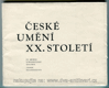 České umění XX. století (ze sbírek Středočeské galerie, zámek Nelahozeves)