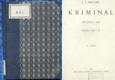 Kriminál - 1920