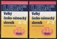 Velký česko-německý slovník A-O,P-Ž