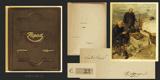 ZÁPAD. 1925. Pohorský obraz. Ilustrace ADOLF KAŠPAR. Podpis autora a ilustrátora. Celokožená vazba.