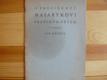 O presidentu Masarykovi pražským dětem