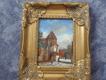 Dům na náměstí - obraz